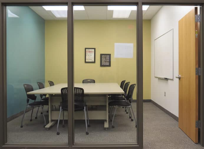 study and conference room