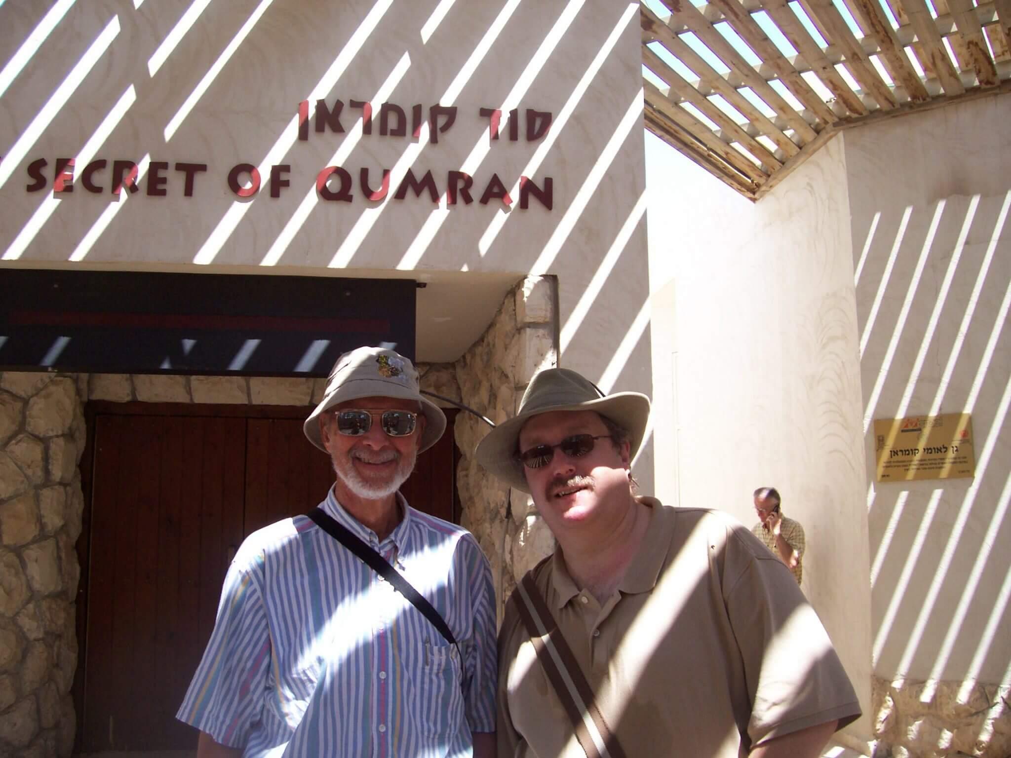 Dale and Phil at Qumran