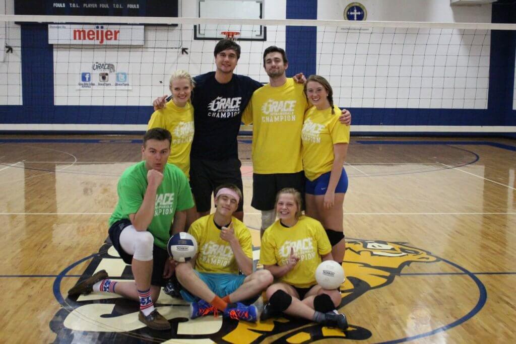 Intramural Volleyball team