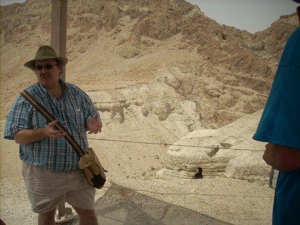 Phill At Qumran