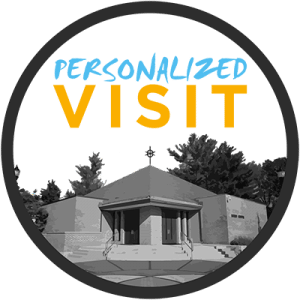 Personalized Visit Logo