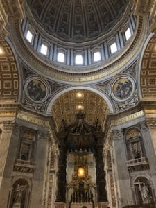 Picture of a chapel in rome
