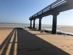 Picture Of Omaha Beach in Normandy, France