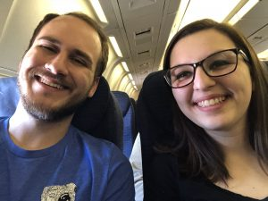 Picture Of Students On Plane