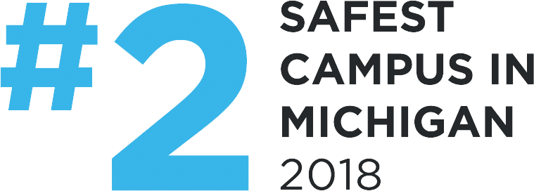 #2 Safest Campus In Michigan 2018