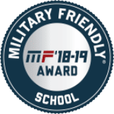 Military Friendly School Badge Logo