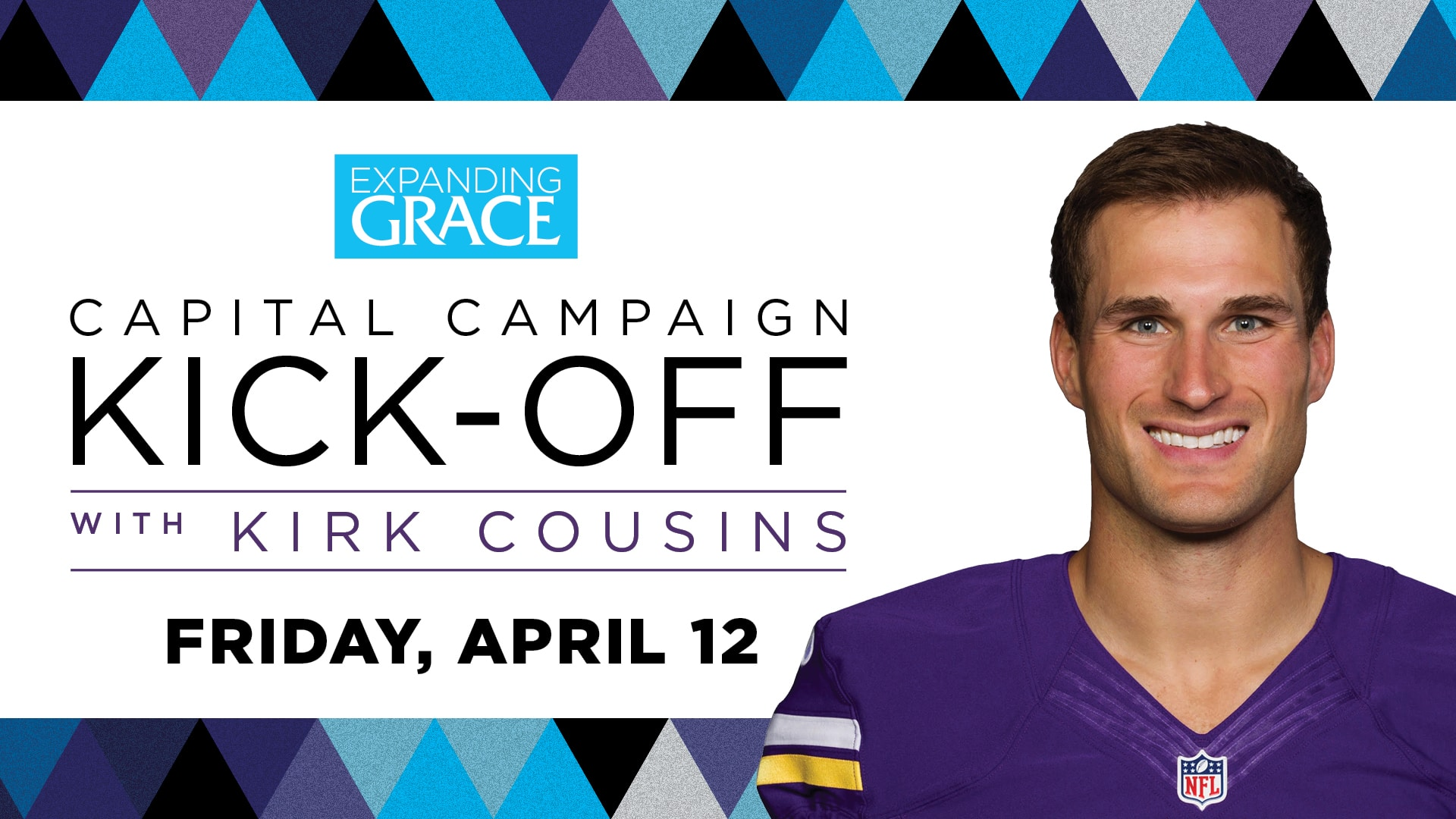 EGKO, Kirk Cousins, April 12