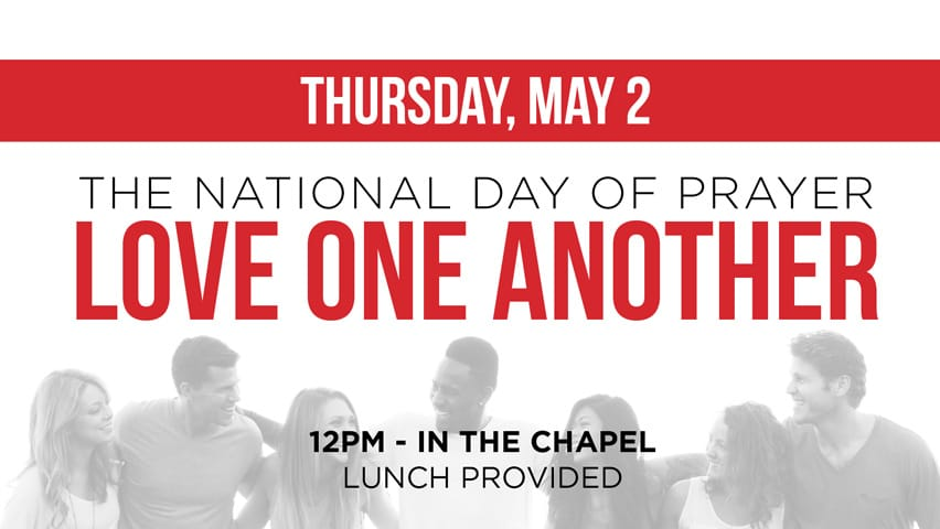 National Day Of Prayer, May 2nd, 12PM