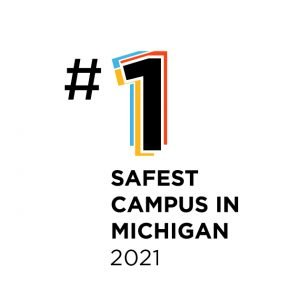 #1 safest college in michigan 2021