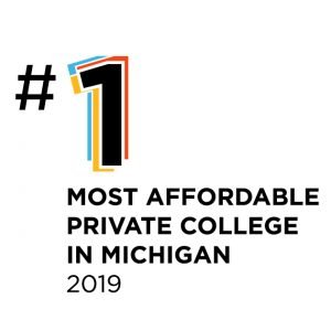 #1 most affordable private college in michigan 2019